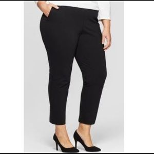 Ava & Viv 4x  black dress pants